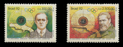 BRAZIL Scott # 2349-50, 1992 Summer Olympics, Barcelona (Set of 2)