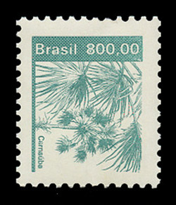 BRAZIL Scott # 1939, 1984 800cr Carnauba