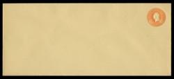 U.S. Scott # U 530/23, UPSS #2731/29 1915-32 6c Washington, orange on amber - Mint (See Warranty)