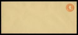 U.S. Scott # U 530/23, UPSS #2731/35 1915-32 6c Washington, orange on amber - Mint (See Warranty)