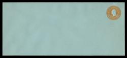 U.S. Scott # U 531/21, UPSS #2734/29 1915-32 6c Washington, orange on blue - Mint (See Warranty)