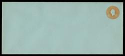 U.S. Scott # U 531/23, UPSS #2735/35 1915-32 6c Washington, orange on blue - Mint (See Warranty)