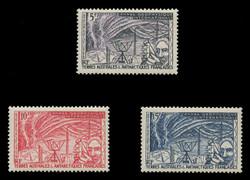 FSAT Scott #   8-10, 1957 Polar Observation (Set of 3)