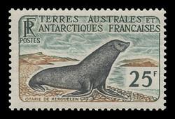 FSAT Scott #  18, 1960  25fr Weddell Seal