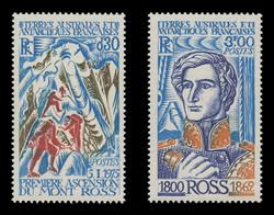 FSAT Scott #  64-5, 1976 First Climbing of Mt. Ross (Set of 2)