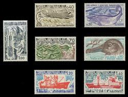 FSAT Scott #  69-75, 1977 Marine Life Research (Set of 7)