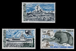 FSAT Scott #  77-9, 1979 Marine Life Research (Set of 3)