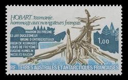FSAT Scott #  81, 1979 French navigators Monument