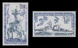 FSAT Scott #  84-5, 1979 Antarctic Vessels (Set of 2)