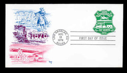 U.S. Scott #U582 13c Bicentennial Envelope First Day Cover.  MARG cachet.