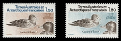 FSAT Scott # 101-2, 1983 Birds - Eaton's Ducks (Set of 2)