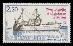 FSAT Scott # 103, 1983 Ship - Trawler, Austral