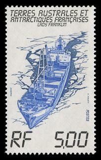 FSAT Scott # 104, 1983 Ship - Freighter, Lady Franklin