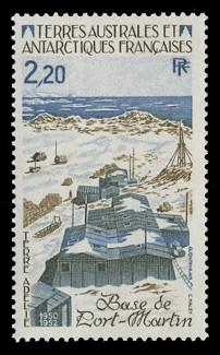 FSAT Scott # 116, 1985 Base at Port Martin