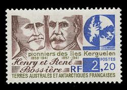 FSAT Scott # 148, 1989 Henri and Rene Bossiere - Pioneers
