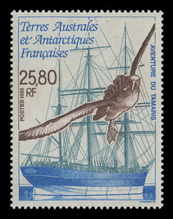 FSAT Scott # 209, 1995 Sailing Ship Tamaris