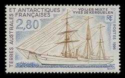 FSAT Scott # 214, 1996 Expedition Ship - Yves de Kerguelen
