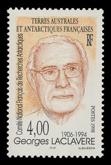 FSAT Scott # 241, 1998 Georges Laclavere - Geographer