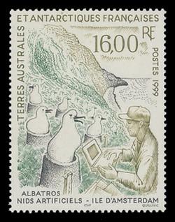 FSAT Scott # 252, 1999 Study of Albatrosses on Artificial Nests
