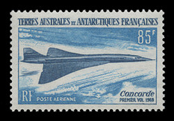 FSAT Scott # C  18, 1969 Concorde Issue