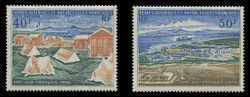 FSAT Scott # C  24 - 5, 1971 Port-aux-Francais - 20th Anniversary (Set of 2)