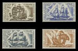 FSAT Scott # C  29-32, 1973 Antarctic Sailing Ships (Set of 4)