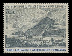FSAT Scott # C  46, 1976 Bicentennial of Capt. Cook's Voyage - Kerguelen Island