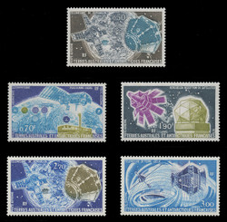 FSAT Scott # C  49-53, 1977-9 Satellite Issue (Set of 5)