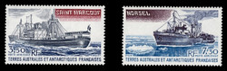 FSAT Scott # C  62-3, 1980 Supply Ship & Icebreaker (Set of 2)