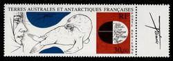 FSAT Scott # C  88, 1985 Art by Tremois - Explorer & Seal (C88 & Label)