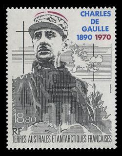 FSAT Scott # C 117, 1991 Charles de Gaulle