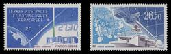 FSAT Scott # C 130-1, 1994 Satellite, Ground Sta. & Lidar Sta. (Set of 2)