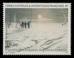FSAT Scott # C 134, 1995 Moving of Winter Station, Charcot