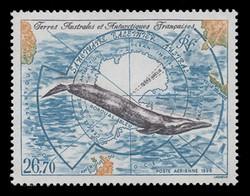 FSAT Scott # C 138, 1996 Blue Whale, Southern Whale Sanctuary