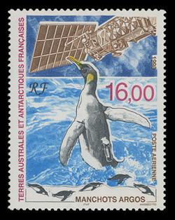 FSAT Scott # C 147, 1998 King Penguin, Argos Satellite