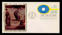 U.S. Scott #U569 10c Tennis Centennial Envelope First Day Cover.  Colorano cachet.