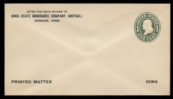 U.S. Scott # U 400/10, UPSS #1479/18 1907-16 1c Franklin, green on white, Die 1 - Mint (See Warranty)