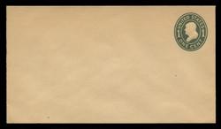 U.S. Scott # U 404/10, UPSS #1573a/21 1907-16 1c Franklin, green on manila, Die 1 - Mint (See Warranty)