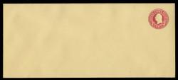 U.S. Scott # U 430/21, UPSS #2326/29 1915-32 2c Washington, carmine on amber, Die 1 - Mint (See Warranty)