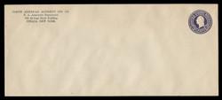 U.S. Scott # U 436/23, UPSS #2575/41 1915-32 3c Washington, purple on white, Die 1 - Mint (See Warranty)