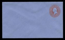 U.S. Scott # UO  54/07, UPSS # WD93/2, 1875 3c Washington, red on blue - Mint (See Warranty)