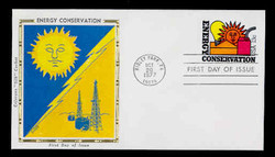 U.S. Scott #U584 13c Energy Conservation Envelope First Day Cover.  Colorano cachet.