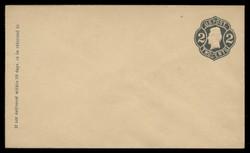 U.S. Scott # U  50/07, UPSS #108/01 1863-4 2c Jackson, Die 3, black on buff - Mint (See Warranty)