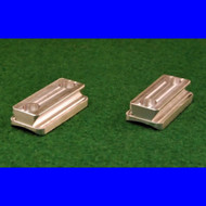 """Round Action (1.350"""") Scope Ring Bases (#6 screws) by Harrells"""