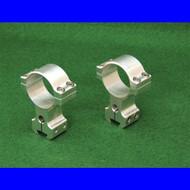 Harrells 30mm TALL Double Screw Scope Rings