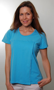Side Split Nursing Tee