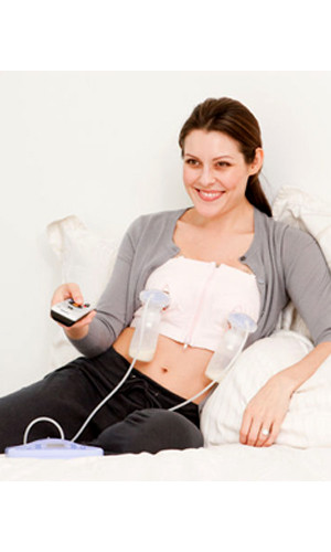 37b297d45e ... Simple Wishes - Hands Free Breast Pump Bra. Image 1. Image 1. Click to  enlarge