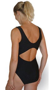 Cut Out Back Nursing Swimsuit