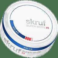 Skruf Super White Slim Nicotine Pouches - Polar