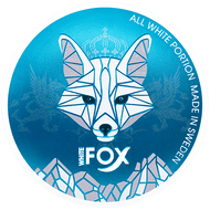 White Fox Mint Slim Strong Nicotine Pouches